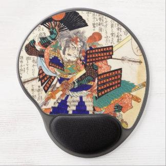 Classic Vintage Japanese Samurai Warrior General Gel Mouse Pad