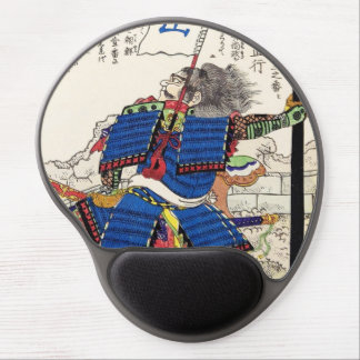 Classic Vintage Japanese Samurai Warrior General Gel Mouse Pad