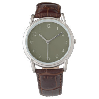 CLASSIC   vintage numbers style Wrist Watches