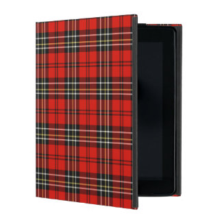 Classic Vintage Red Plaid iPad Case