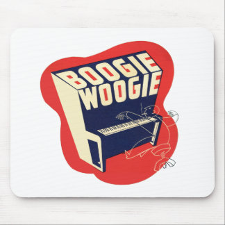 Classic Vintage Retro Boogie Woogie Jazz Mouse Pad