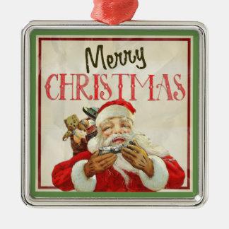 Classic Vintage Santa Claus Christmas Christmas Ornament