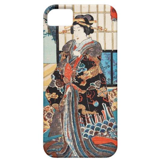 Classic vintage ukiyo-e japanese geisha Utagawa Barely There