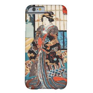 Classic vintage ukiyo-e japanese geisha Utagawa Barely There iPhone 6 Case