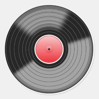 Classic Vinyl LP Record Sticker
