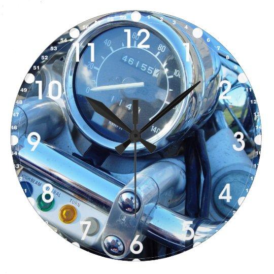 Classic Virago Motorcycle Dash Large Round Clock