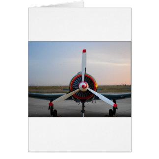 Classic Warbird Greeting Card