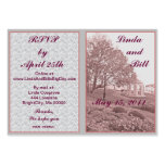 Classic Wedding Memories RSVP Cards