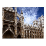 Classic Westminster Abbey photograph London UK Post Card