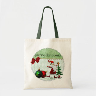 Classic Whimsey Christmas GIFT Tote Bag