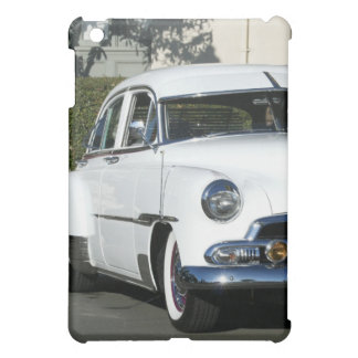Classic White Car iPad Mini Cover