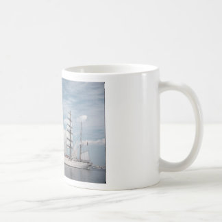 Classic White Mug With Ship Printing
