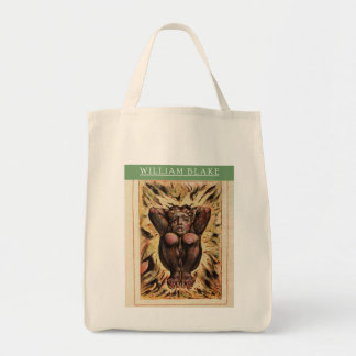 Classic William Blake First Book Of Urizen Tote