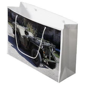 Classic Willys Jeep Large Gift Bag