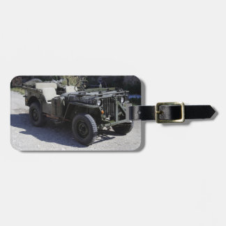 Classic Willys Jeep Luggage Tag