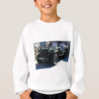 Classic Willy's Jeep. Sweatshirt