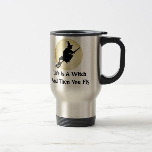 Classic Witch Saying Coffee Mugs