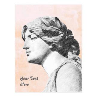 Classic Woman Postcard