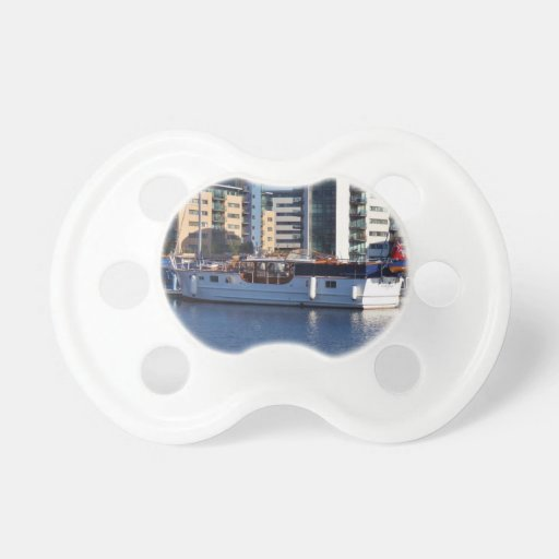 Classic Wooden Motor Boat Pacifiers