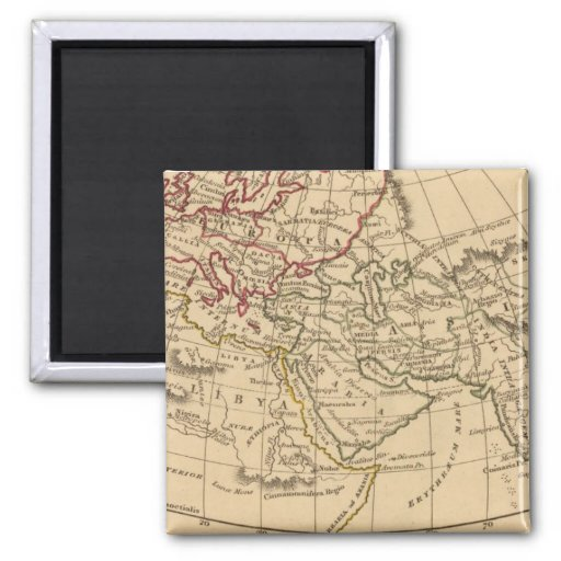 Classic World Map Magnet