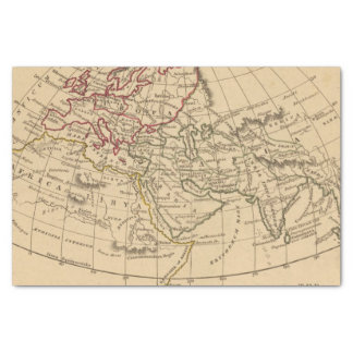 Classic World Map Tissue Paper