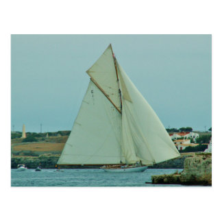 Classic Yacht Mariquita Postcard