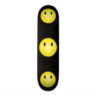 Classic Yellow Smiley Skateboard Deck