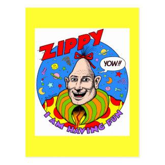 Classic Zippy Yellow Post Cards