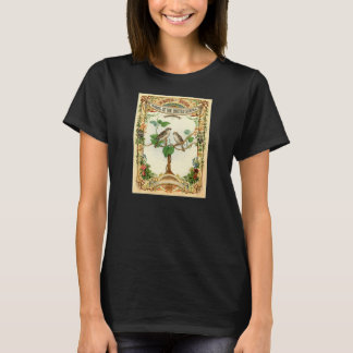 Classic Zoological Etching - Birds of the USA T-Shirt