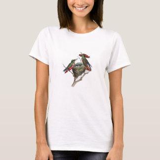 Classic Zoological Etching - Hummingbirds T-Shirt