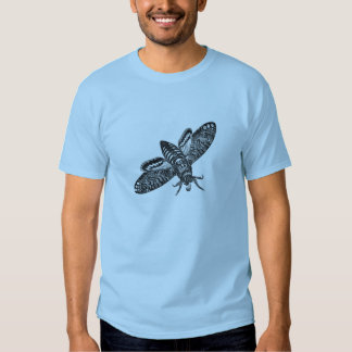 Classic Zoological Etching - Moth Tees