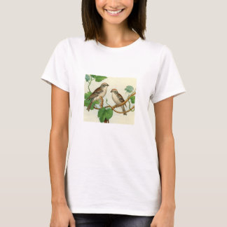 Classic Zoological Etching - Sparrow T-Shirt