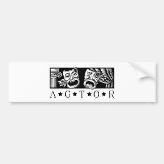 Classical Actor Bumper Sticker