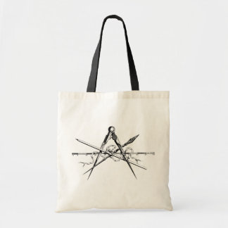 Classical Architecture Drafting Tools Tote Bag