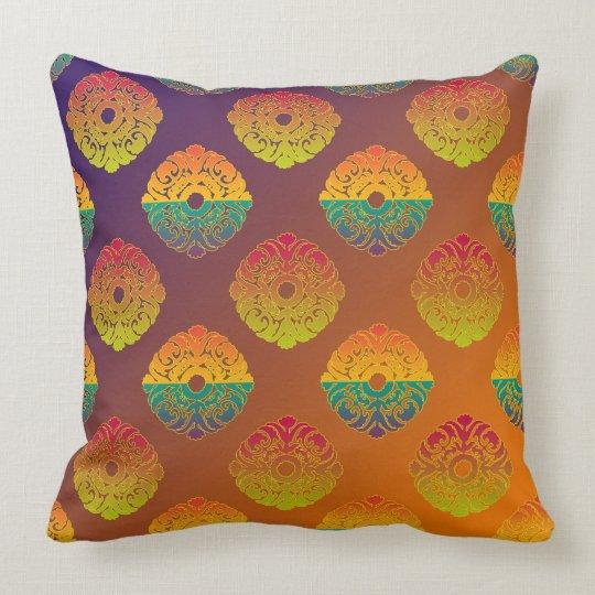 Classical Baroque seamless pattern Cushion