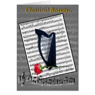 Classical Beauty Card