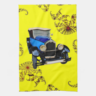 Classical Buick Tea Towel