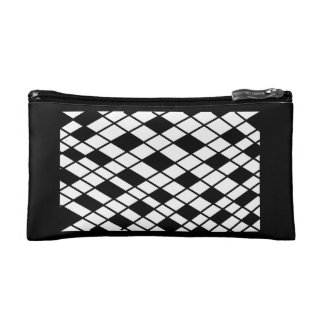 Classical checked bag cosmetics bags