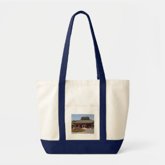 Classical Chinese Architecture Tote Bag