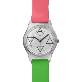 Classical Four Elements Earth, Air, Fire & Water Watch