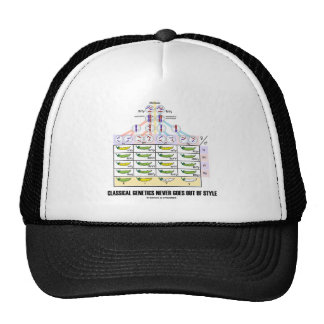 Classical Genetics Never Goes Out Of Style Mesh Hat