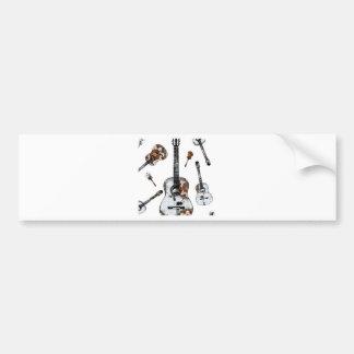 Classical guitar 12.jpg bumper sticker