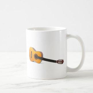 Classical guitar coffee mug