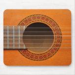 Classical guitar orange tan