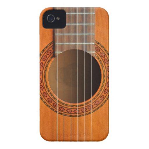 Classical guitar orange tan blackberry bold cover