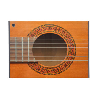 Classical guitar orange tan iPad mini case