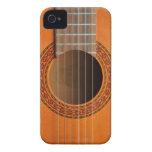 Classical guitar orange tan iPhone 4 case