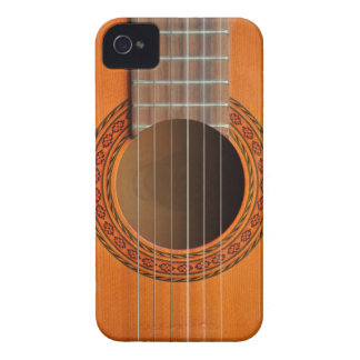 Classical guitar orange tan iPhone 4 Case-Mate cases