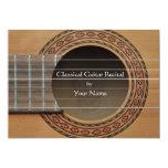 Classical Guitar Recital Invitation 13 Cm X 18 Cm Invitation Card