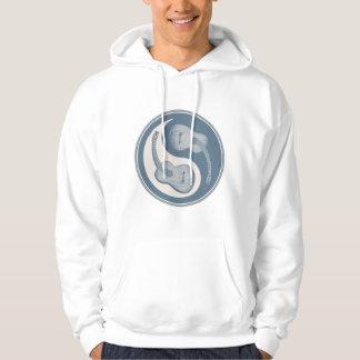 Classical Guitar Yin Yang Hooded Sweatshirts
